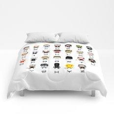 Horror Movies Alphabet Comforters