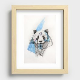 CHEWING IT OVER Recessed Framed Print
