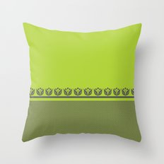 Chartreuse Spring Throw Pillow