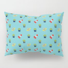 Aliens & Pizza Planet,Toy Story. Pillow Sham