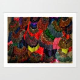 Colour Shards Art Print