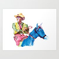 Quick Gun Murugan Art Print
