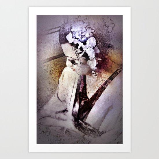 Geisha 26 Art Print