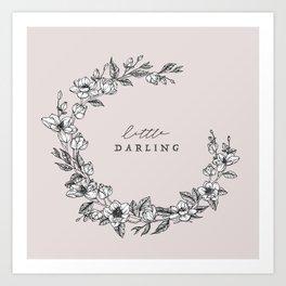 Little Darling Art Print