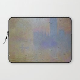 "Claude Monet ""The Houses of Parliament, Seagulls"", 1903 Laptop Sleeve"