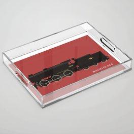 Bulleid Q1 0-6-0 Acrylic Tray