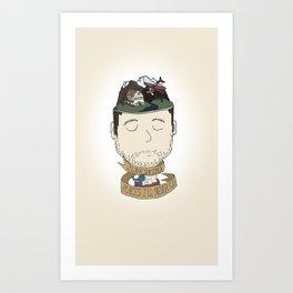 Roger Art Print