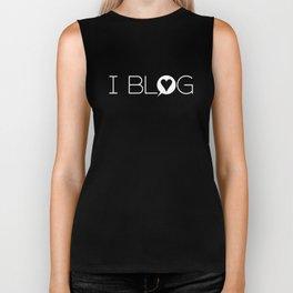 I Blog Biker Tank