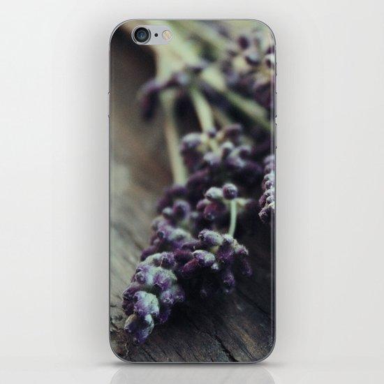Lavender Harvest iPhone & iPod Skin