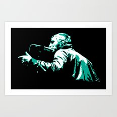 Liam Gallagher Art Print