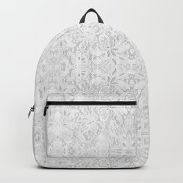 White Lace Backpack