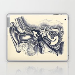 Inner ear anatomy Laptop & iPad Skin