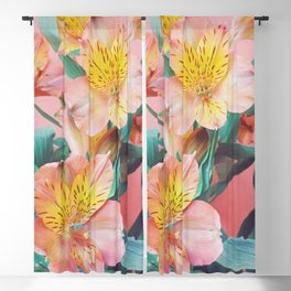 Spring Bouquet Blackout Curtain