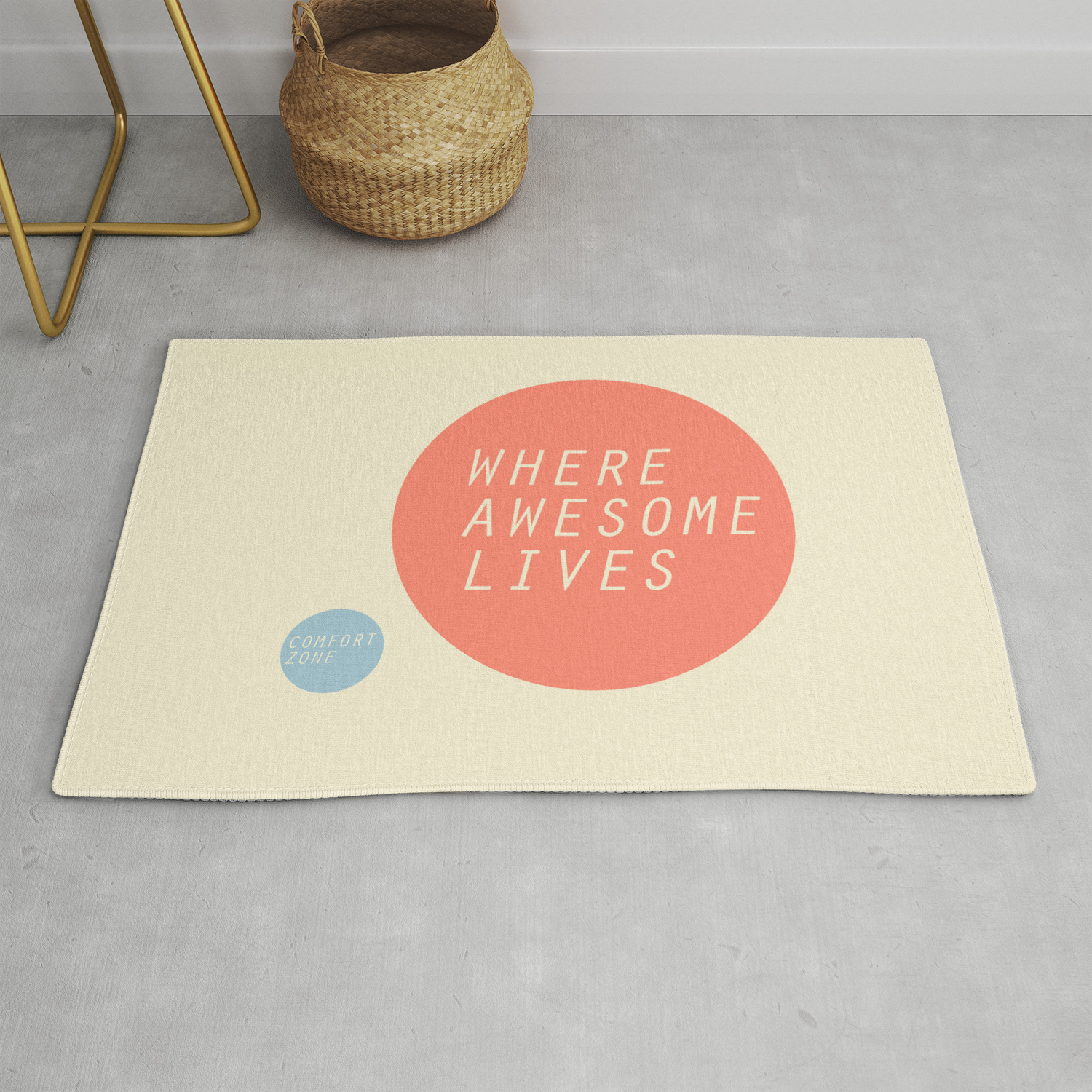 Comfort Zone Rug By Mattholley Society6