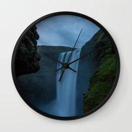 Cascading Waterss Wall Clock