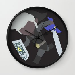 Toon Link(Smash)Dark Wall Clock