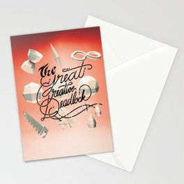 The Great Creative Deadlock Stationery Cards