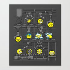Smiley Factory Canvas Print