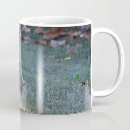Small Bird Staying In The Shade Coffee Mug
