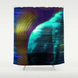 Blown Away a Ways Shower Curtain