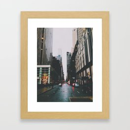 bakk Framed Art Print