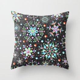Snowflake Filigree Throw Pillow