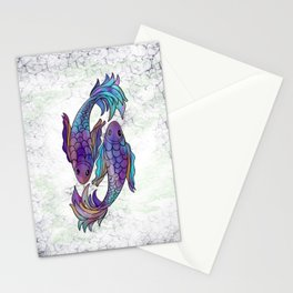 Pisces Multi Stationery Cards
