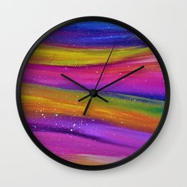 Ribbon Sky Wall Clock