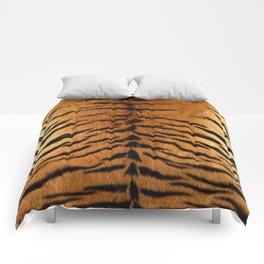 Faux Siberian Tiger Skin Design Comforters