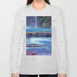 The Pools of Havasupai Falls - Revisited Long Sleeve T-shirt