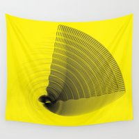 pi Wall Tapestries featuring pi by Graphmob