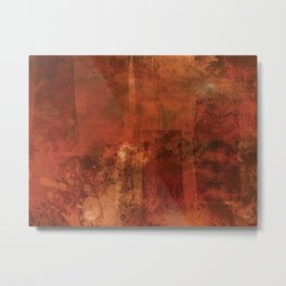 Organic rust Metal Print