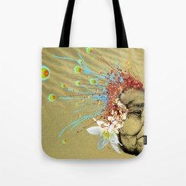"""Gabriela"" of the Kaweskar People - Color Tote Bag"