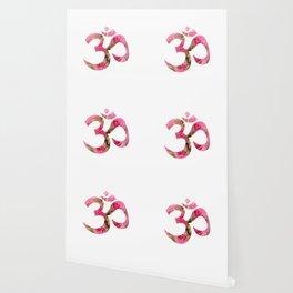 Aum Rose Harmony Om Wallpaper