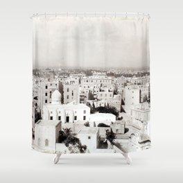 Alexandria, Egypt 1901 Shower Curtain