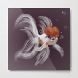 A Little Fishy Metal Print