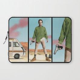 Bryan Cranston as Walter White  @ TV serie Breaking Bad Laptop Sleeve