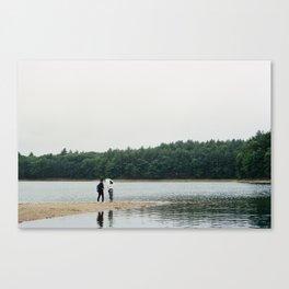 Lovers at Walden Pond - 35mm Film Canvas Print