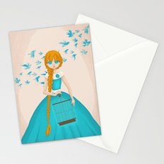 Flying Birds II Stationery Cards