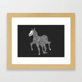 Pale horse no. 1 Framed Art Print