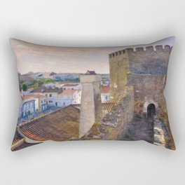 Alandroal castle, the Alentejo, Portugal, Rectangular Pillow