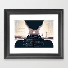 The Space Creator Framed Art Print
