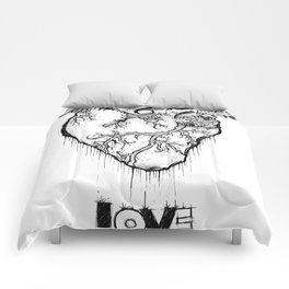 Heart Of Hearts: Outline & Stuff Comforters
