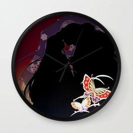 Summer -Version her Wall Clock