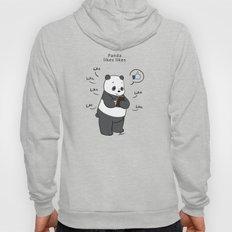 Panda likes Likes  Hoody