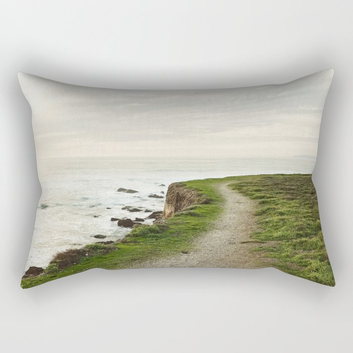 California Coast Trail Rectangular Pillow