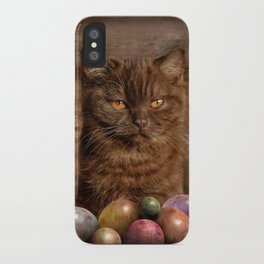 The Boss of the Balls iPhone Case