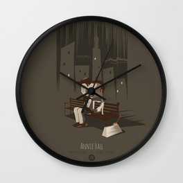 Annie Hall Wall Clock