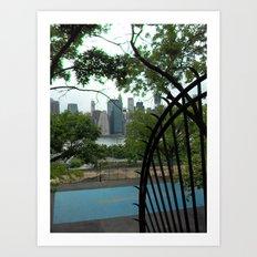 New York City, Landscape Art Print