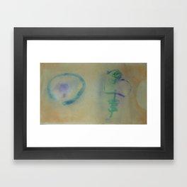 Buji 2  / Painted by Terrance Keenan Framed Art Print